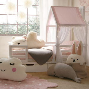 Kinderbett - Haeuschen