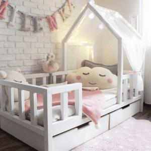 Kinderbett-Haeuschen