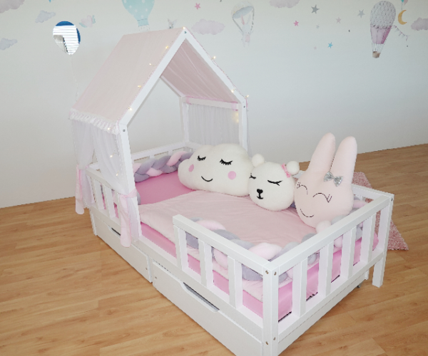 Kinderbett Haeuschen