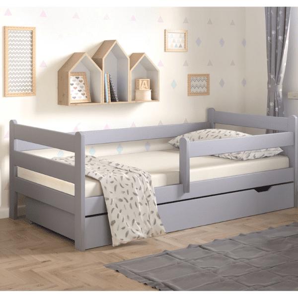 Kinderbett Ida grau