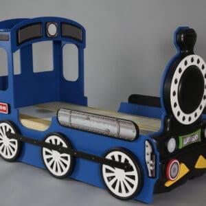 Kinderbett Lokomotive Blau