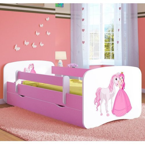 Kinderbett Princess & Pony