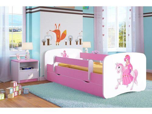 Kinderbett Reitende Princess rosa