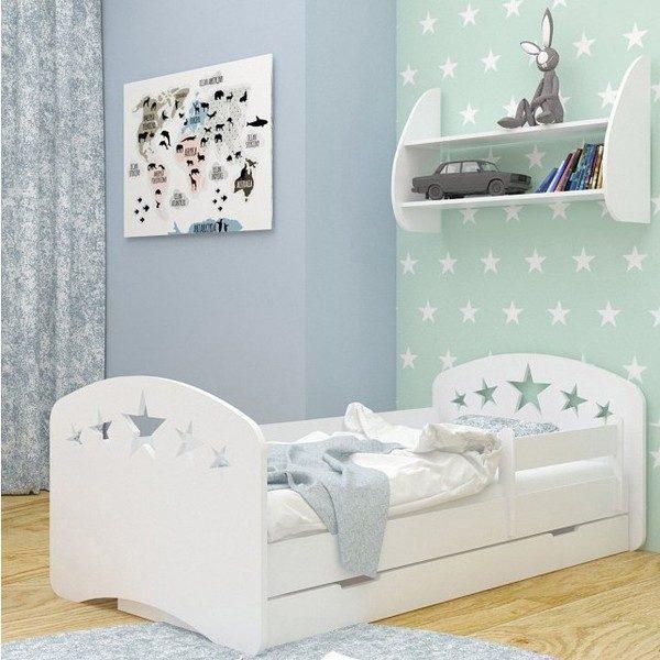Kinderbett Sterne Weiss