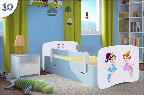 Kinderbett Tanzende Feen hellblau