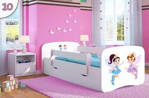 Kinderbett Tanzende Feen weiss