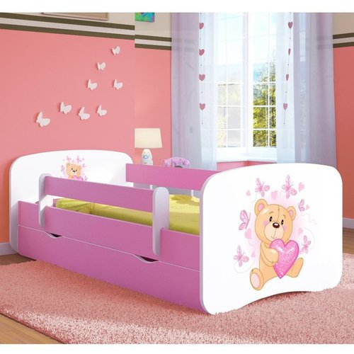 Kinderbett Teddy Rosa