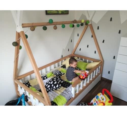Kinderbett Tipi