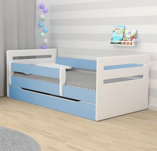 Kinderbett Tomi blau