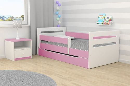 Kinderbett Tomi rosa