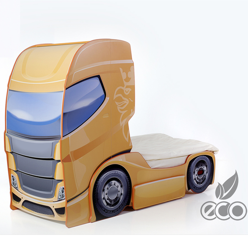 kinderbett truck komplett online kaufen in der. Black Bedroom Furniture Sets. Home Design Ideas