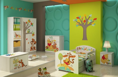 Kinderbett Winnie Puuh