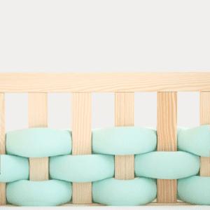 Kinderbettschutz Mint