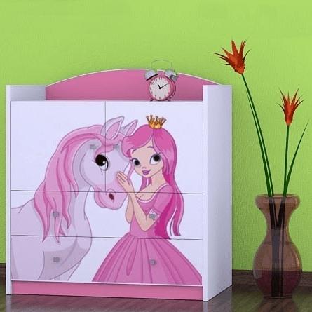 Kinderkommode Princess Rosa