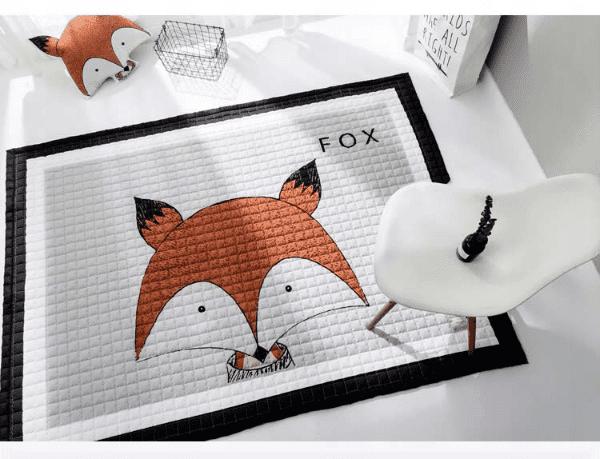 Kindermatte Fox