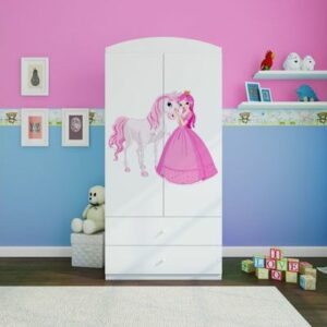 Kinderschrank Princess & Pony