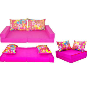 Kindersofa Collage Blume