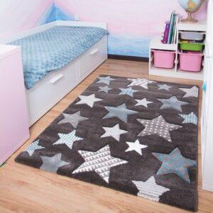 Kinderteppich Sterne