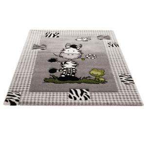 Kinderteppich Zebra