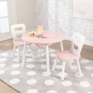 Kindertisch und Stuehle Set