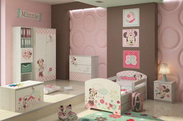 kinderzimmer minnie mouse in der online kaufen. Black Bedroom Furniture Sets. Home Design Ideas