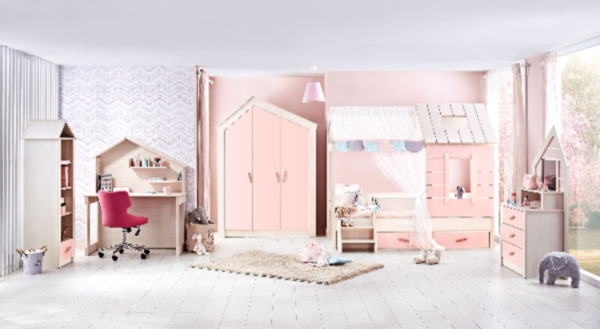 Kinderzimmer Pink Dream