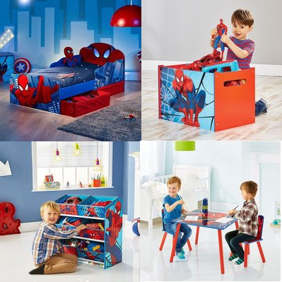Kinderzimmer Spider Man
