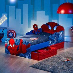 Kleinkinderbett Spider Man