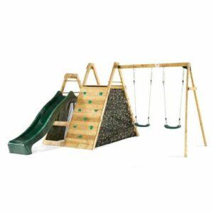 Kletterpyramide mit Schaukeln