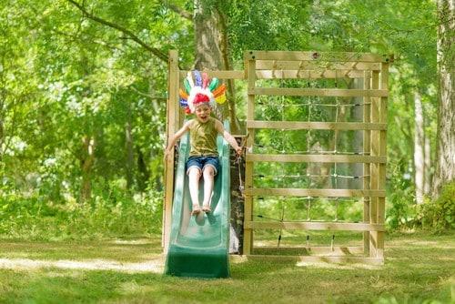 Klettergerüst Outdoor Holz : Kletterwürfel aus holz mit rutsche kletterwand klettergerüst online