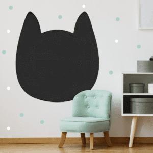 Kreideaufkleber Cat