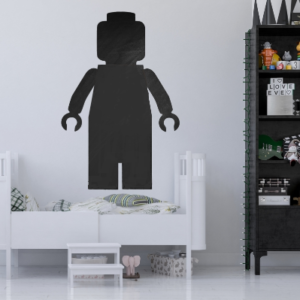 Kreideaufkleber Lego