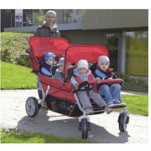 Krippenwagen 4-Sitzer