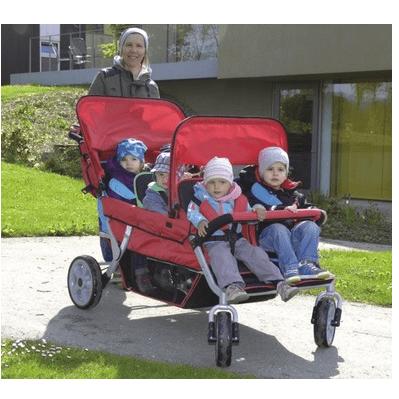 krippenwagen 4 sitzer kiga wagen online kaufen. Black Bedroom Furniture Sets. Home Design Ideas
