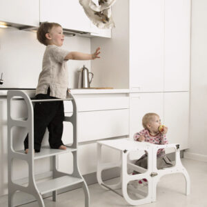 Lernturm Montessori Weiss