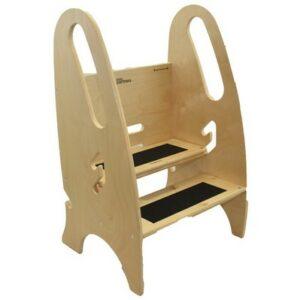 Lernturm und Step Stuhl 3 in 1