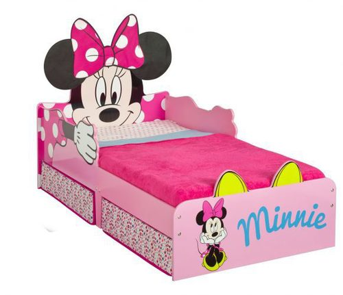 Minnie Mouse Kinderbett