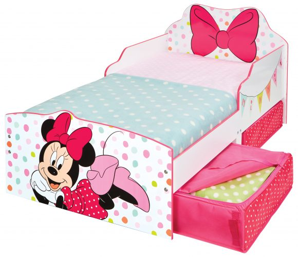 Minnie Mouse Kinderbett