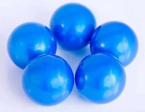 Perliges Blau
