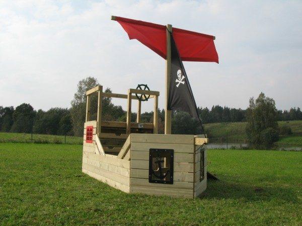 Piraten Spielhaus