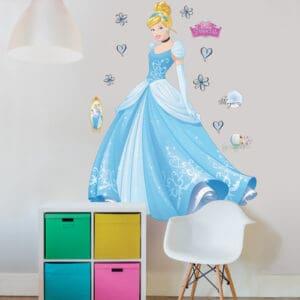 Princess Cinderella Wandsticker