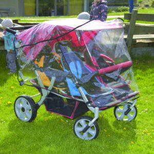 Regenschutz Krippenwagen