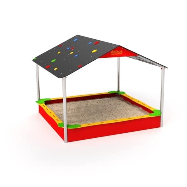 sandkasten mit dach qualit ts spielger te en1176 online. Black Bedroom Furniture Sets. Home Design Ideas