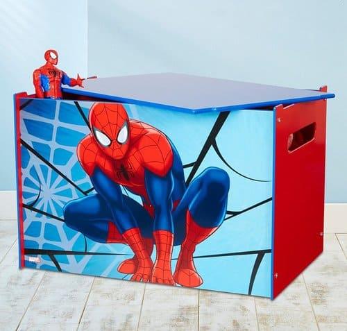 Spider Man Spielzeugkiste