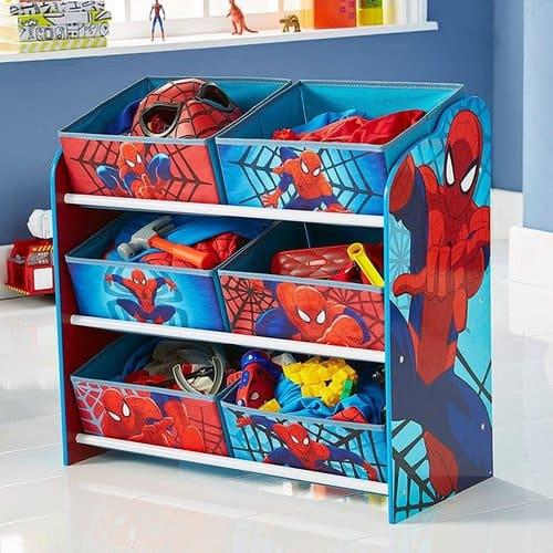 Spider Man Spielzeugregal