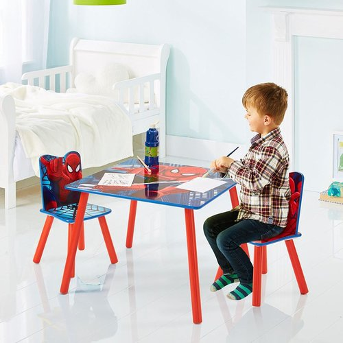Spider Man Tisch Set