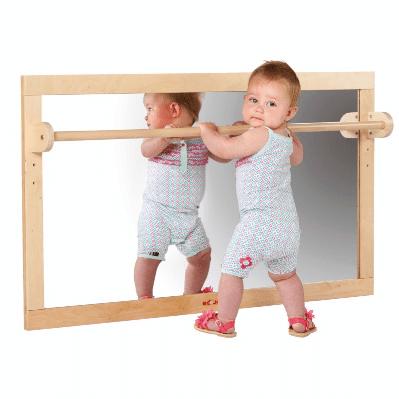 Spiegel mit Griff