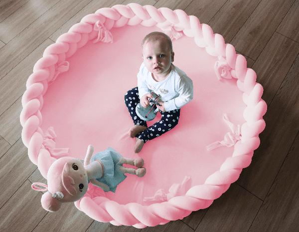 Spielmatte 2in1 Leicht Pink