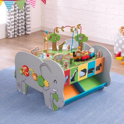 spieltisch elefant in der unterhaltung garantiert. Black Bedroom Furniture Sets. Home Design Ideas