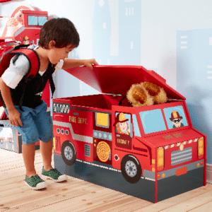 Spielzeugkiste Feuerwehr
